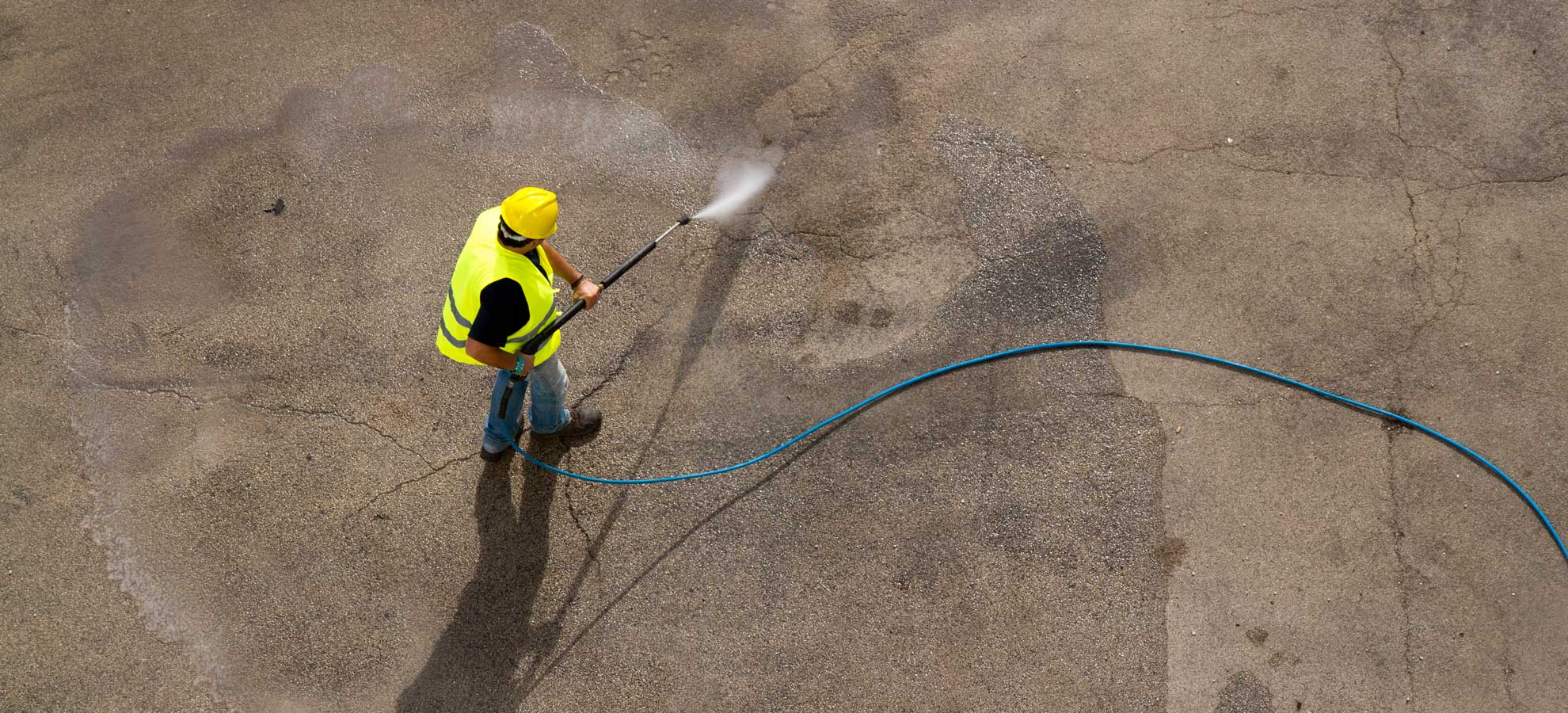 Pressure Washing Sidewalks
